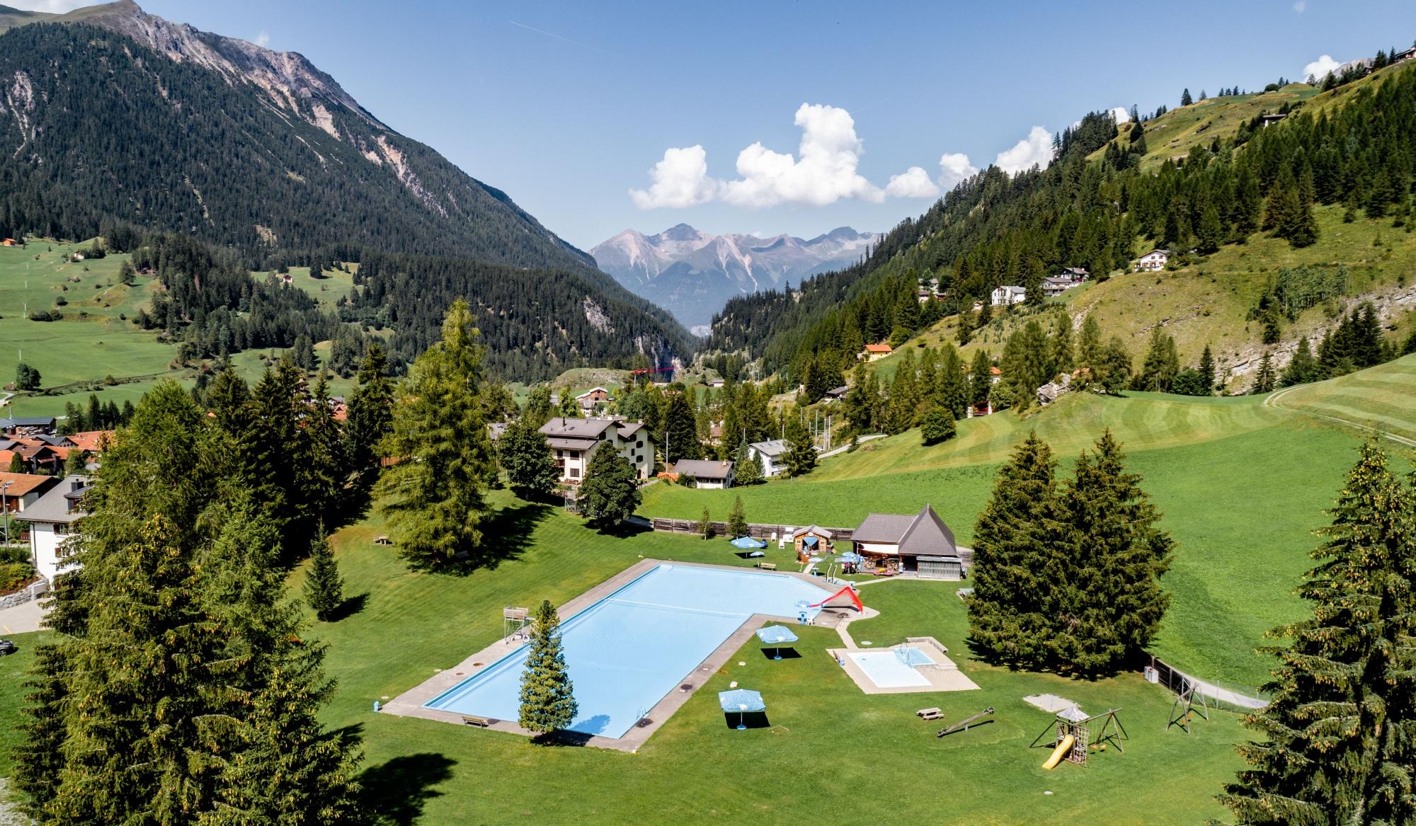 Freibad -  Bergün -  Bergbadi